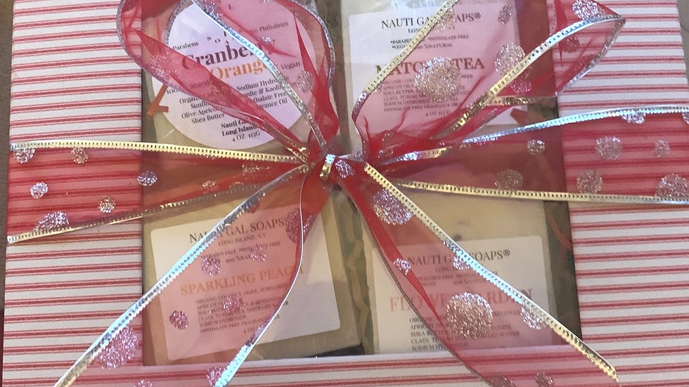 4 Soap Gift Box
