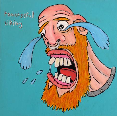Remorseful viking