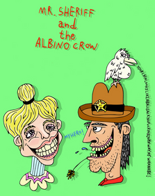 Mr.Sheriff & the Albino Crow