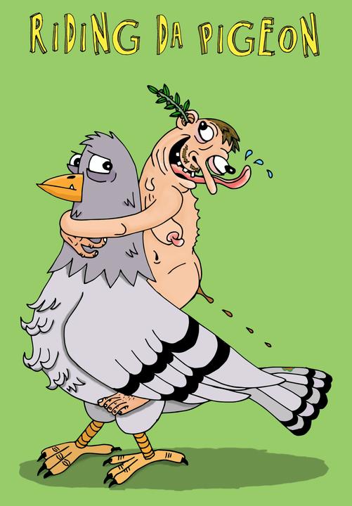 Riding da Pigeon