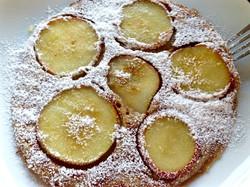 Apfel-Pfannkuchen mit Calvados