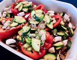 Paprika-Gemüse-Liason