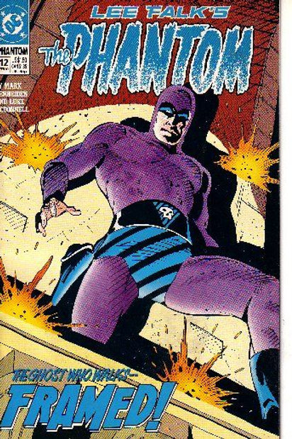 PHANTOM DC,13 ISSUES, 1989-90 12
