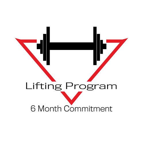 Lifting Program (6 Month Commitment)
