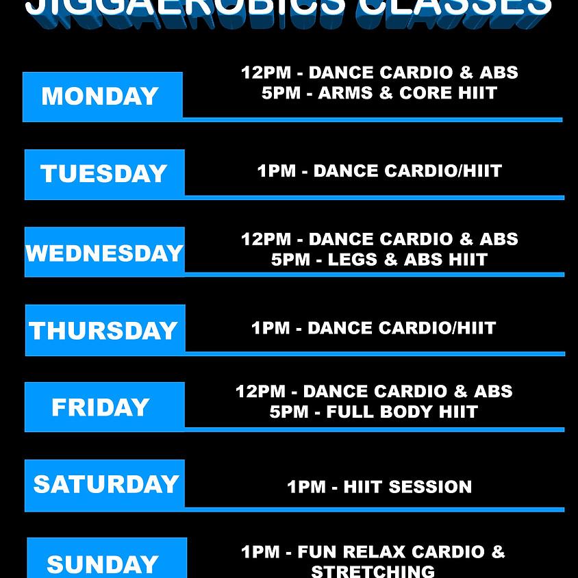 Jiggaerobics Online Training Class