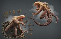 Bulette Creature Design