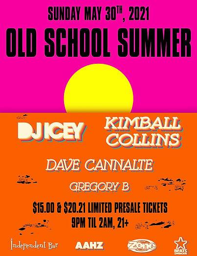 Old School Summer Concert, Orlando FL, DJ Icey, Kimball Collins
