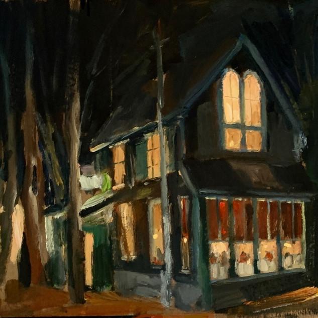 Evening Boathouse