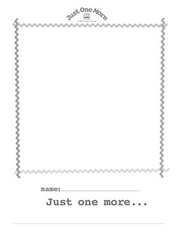 reading-writing prompt_Just One More rea