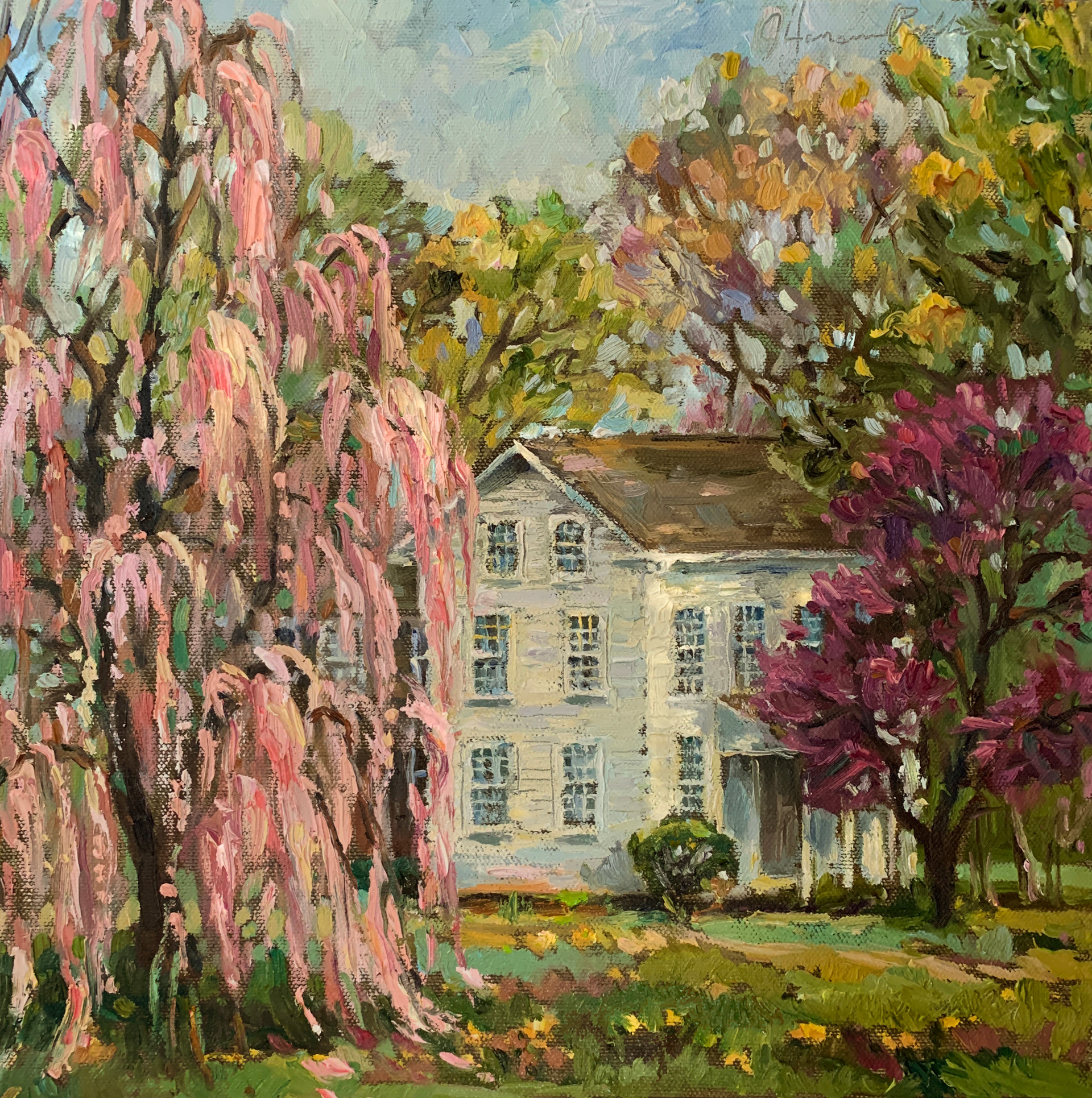 Farmhouse in Bloom