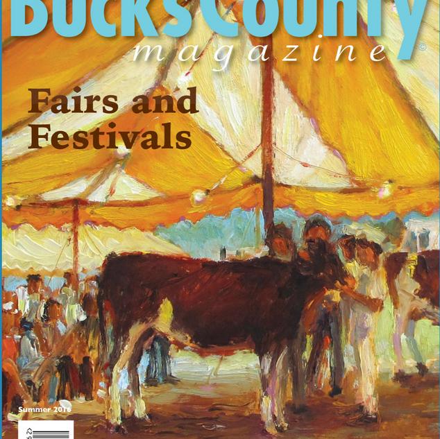 Bucks County Magazine Cover Artist Since 2016
