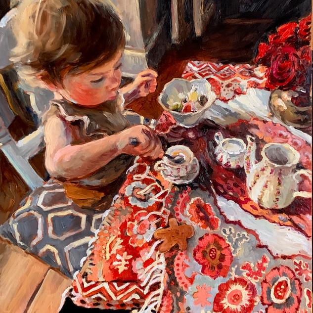 Wax Paper Taffy & Tea