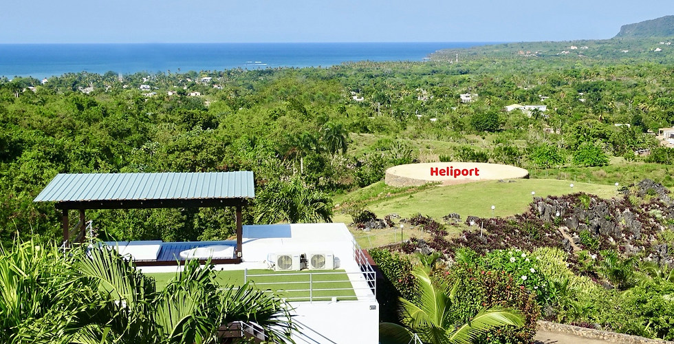 HELIPORT 20 mt. de Diámetro