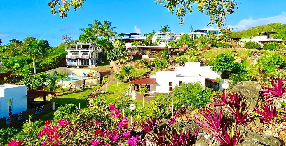 Vista del complejo Las Galeras Village