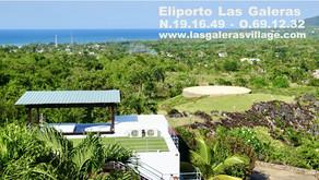 Helipuerto en Las Galeras Village