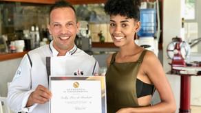 Certificado de participación en el curso de cocina profesional.