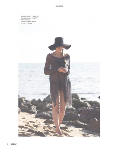 Amy for Elegant Magazine