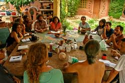 Compartiendo saberes de permacultura