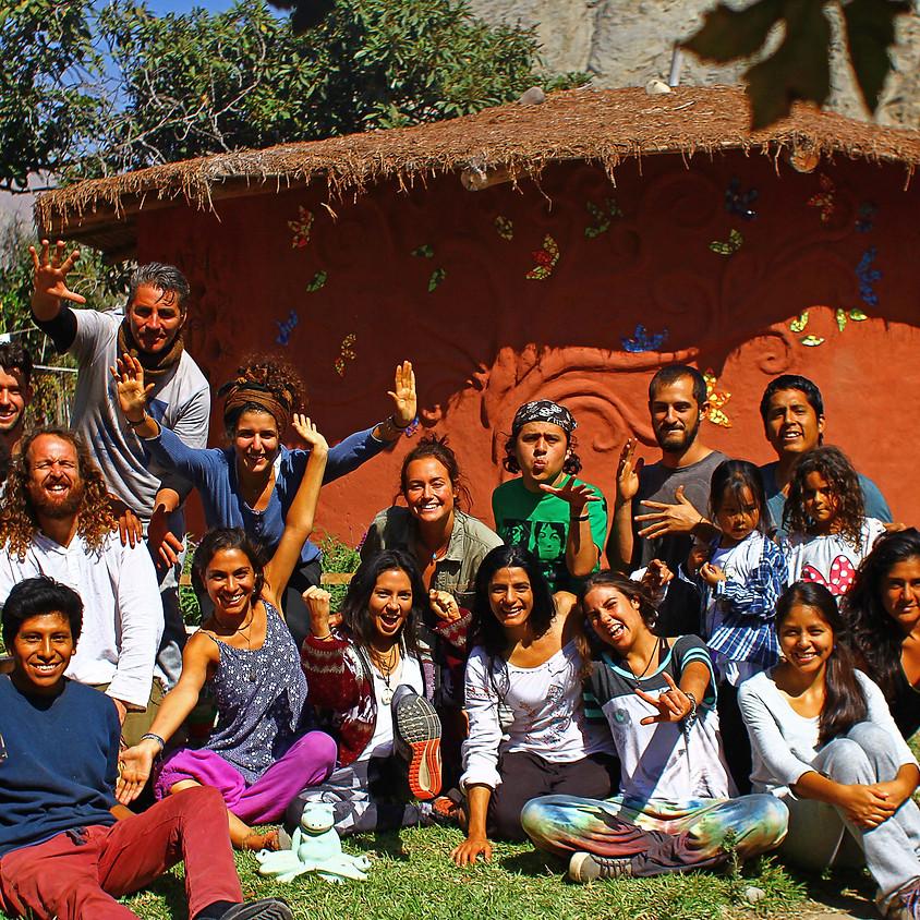 Jornada de Bioconstrucción y Huerto en Tierra Langla