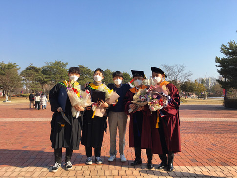 FEB 2021 GRADUATION@GIST, Korea