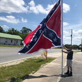 """""""Little""""  ANV Battle Flag"""
