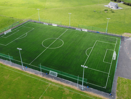 All Weather Pitch is looking good !!!!