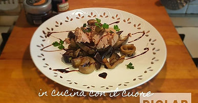 Insalata di Tonno e Melanzane marinate al Balsamico di Sicilia