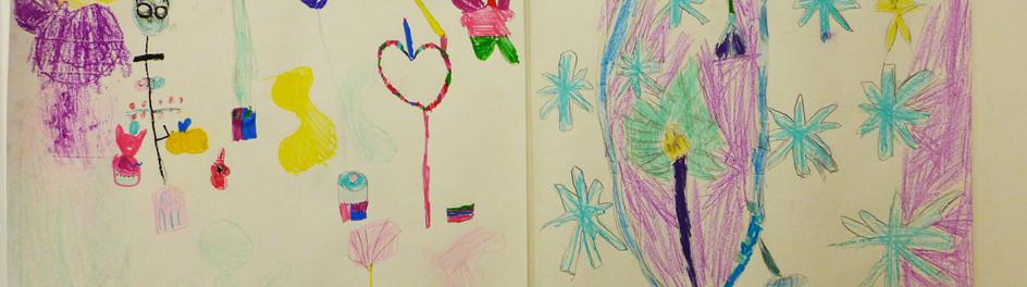 Art Class drawings.