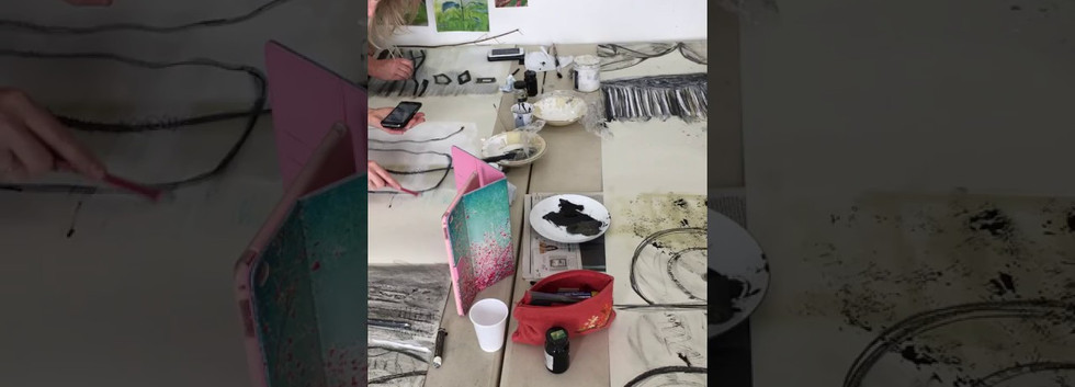 A video of Collaborative drawing.