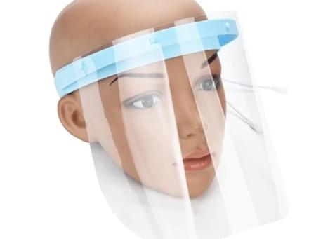 PVC Siperlik Maske üretimimiz başladı.