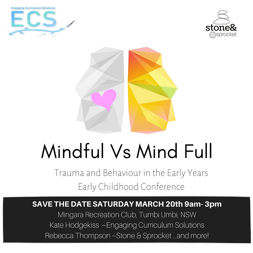 Mindful Vs Mind Full - Trauma and Behaviour in the Early Years