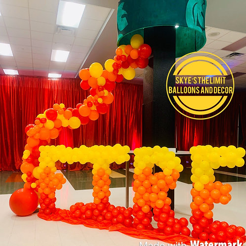 4ft Balloon Letters