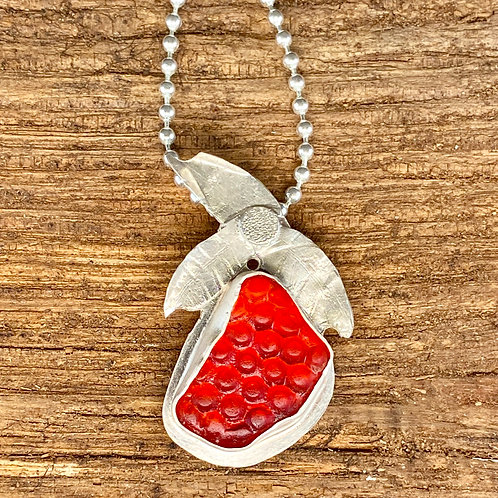 Strawberry Reflector Pendant