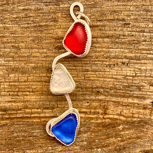 Red White & Blue Pendant