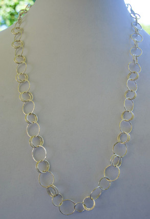Sterling Loops Necklace