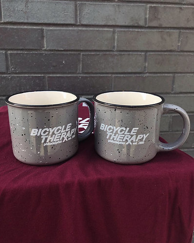 Bicycle Therapy RX Logo Ceramic Mugs