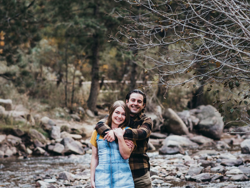 An Autumn Engagement at Eldorado Canyon - John and Lindsey 10-01-2020
