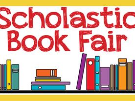 Scholastic Book Fair Coming Monday, 1/27