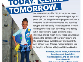 Virtual Girls Scout Opportunities for OLSS Students