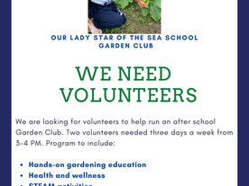How About Helping Out Our Garden Club?