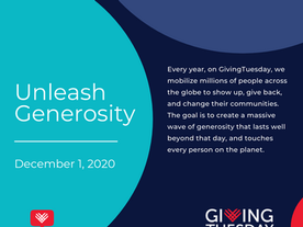 We Need You this Giving Tuesday -12/1