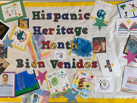 Students Honor Hispanic Heritage Month with Art