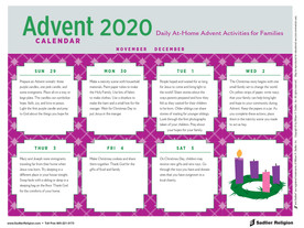 At Home Advent Activities for Families