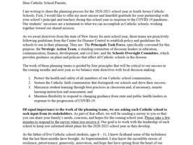 Superintendent Letter to Parents - June 16, 2020