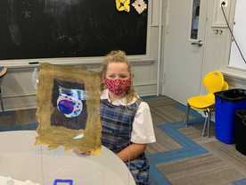 Weekly Art Class with Mrs. Alcantara is Special!