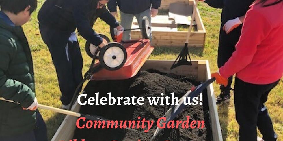 Ribbon Cutting Ceremony - Community Garden