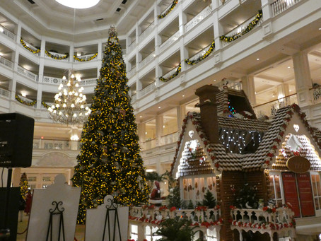 We Stayed at the Disney's Grand Floridian Spa and Resort for the Holidays