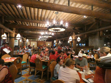 We Visited The Whispering Canyon Cafe at Disney's Wilderness Lodge