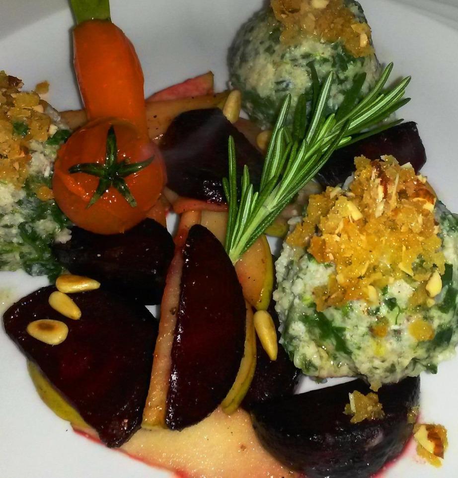 """Frische Küche im """"Haby-Krog"""""""