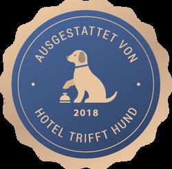 Hund im Hotel